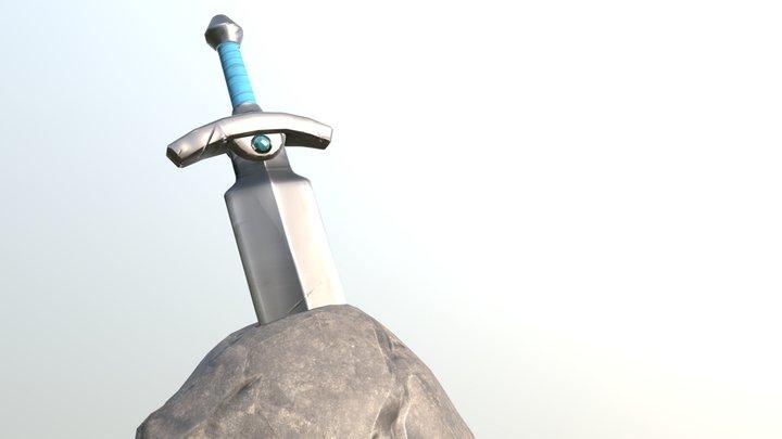 Sword & Rock 3D Model