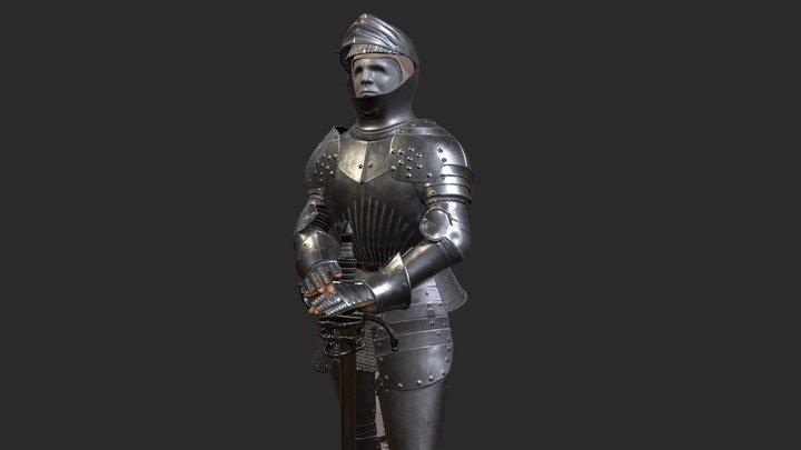 Castle of Blois - Knight Armor 3D Model