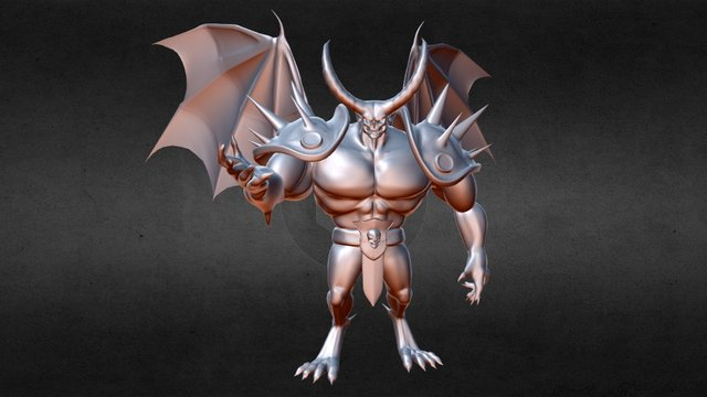 Hell Lord 3D Model