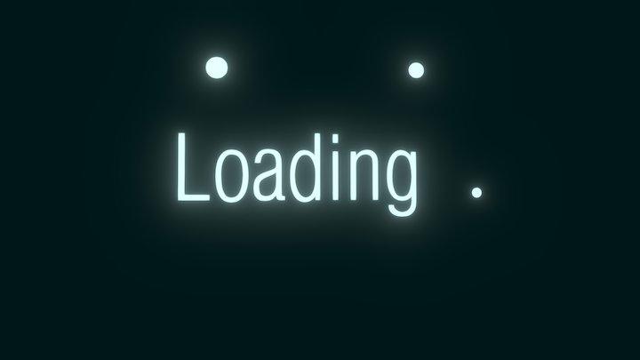 Loading animation 3D Model