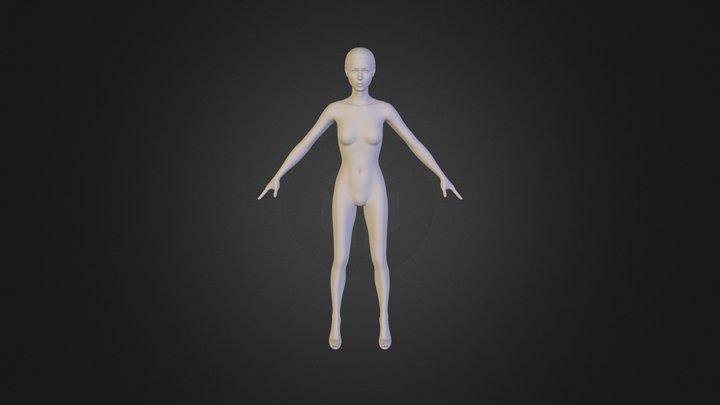 woman_west_V0_2_1 3D Model