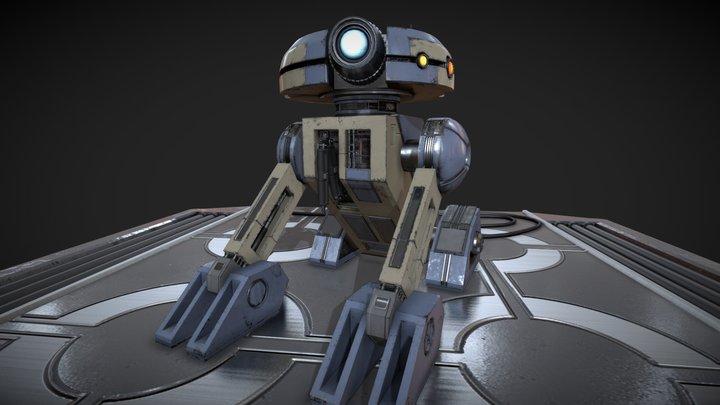 T3-M4 - Star Wars: Knights of the Old Republic 3D Model