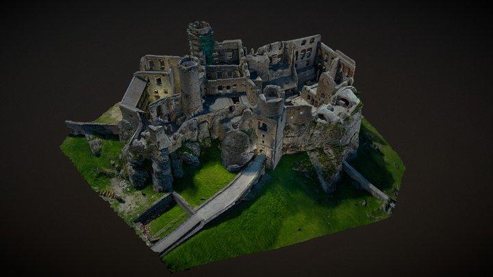 Ruins of Castle Ogrodzieniec 3D Model