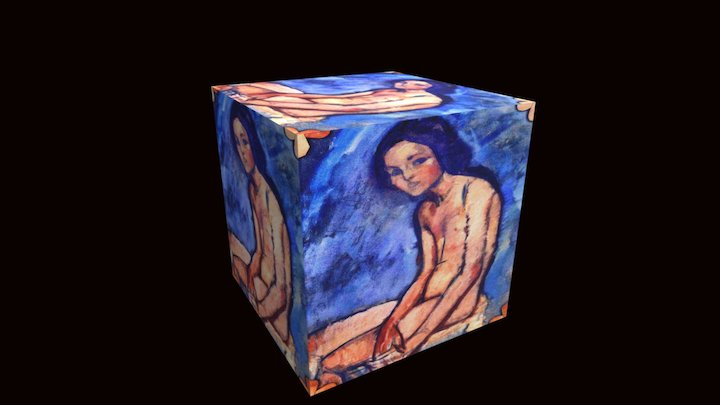 Nudist's Cube ala Modi 3D Model