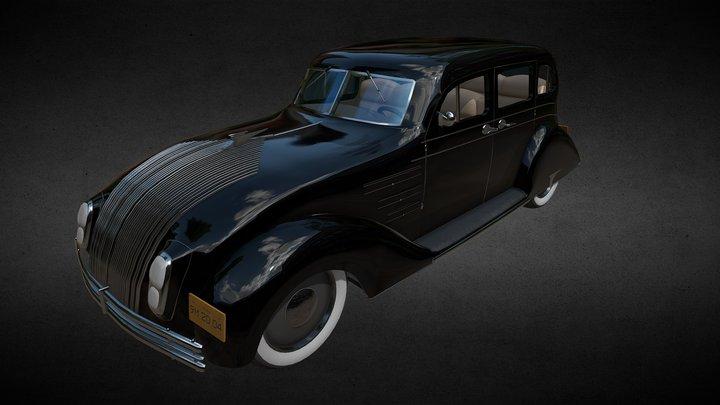 Mafia Car 3D Model