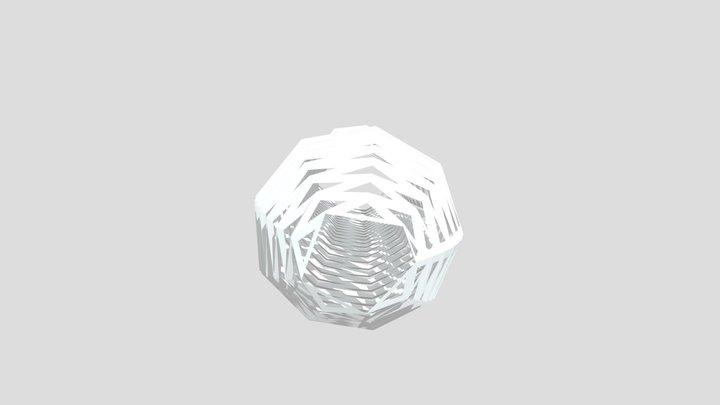 hollowed-out vase 3D Model