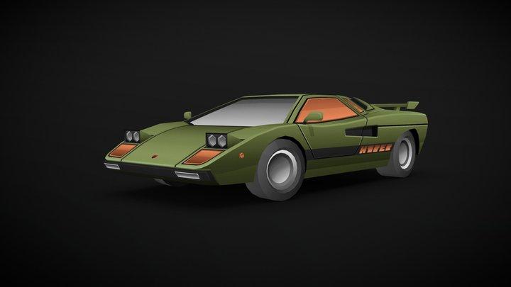 The Mantis 1980 - #DRIVE inspired 3D Model