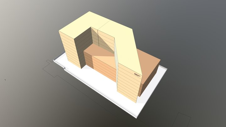 Woodlands Hospital ,Kolkata - 3d Blocking op3 3D Model