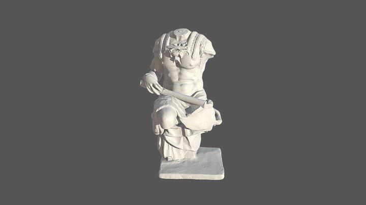 Torso de Giuliano de Medici 3D Model