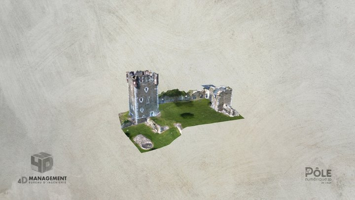 Castle of Saive 3D Model