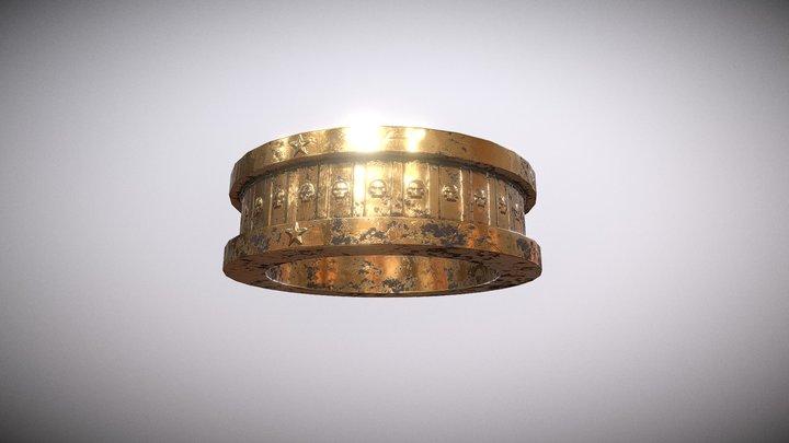 Old Gold Ring 3D Model