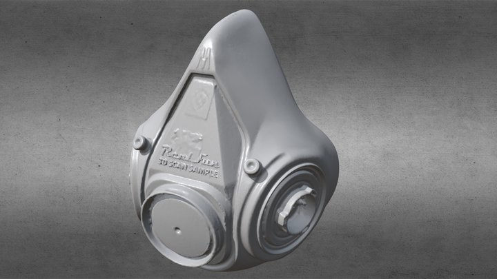 EinScan-SE 3M防毒面罩 3D Model