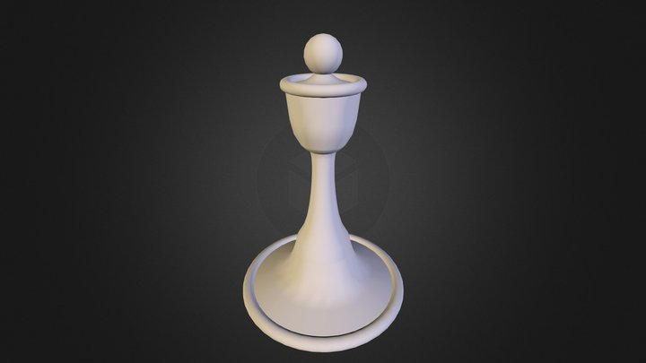 Custom Pawn 3D Model
