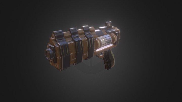 Pistol SCI - FI 3D Model