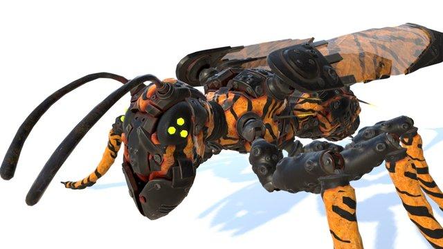 Tracker Jacker Remake 3D Model
