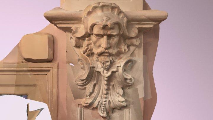Neptunus Ornament in House (2017-09-29) 3D Model