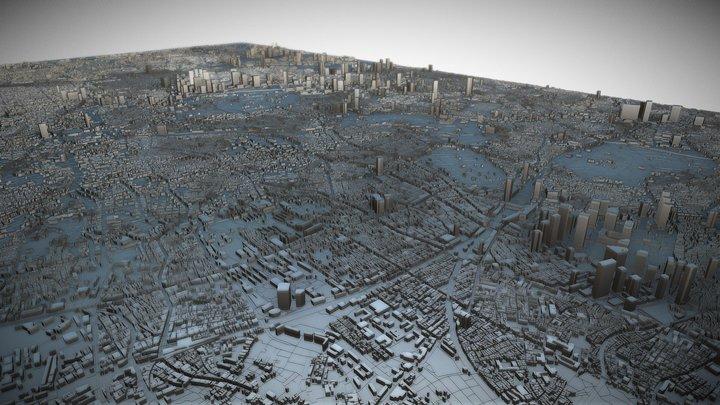 Tokyo, Japan 3D Model