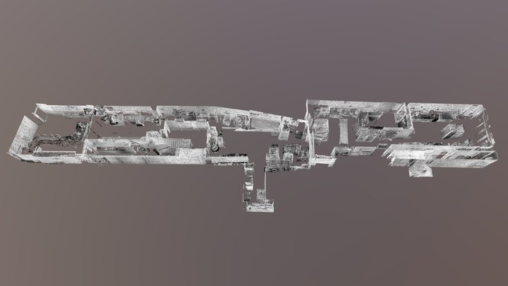 Scan 3D Boulangerie 3D Model