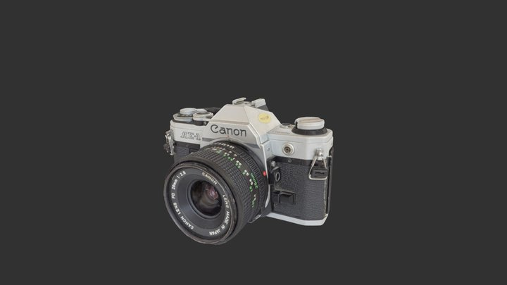 Canon AE-1 3D Model