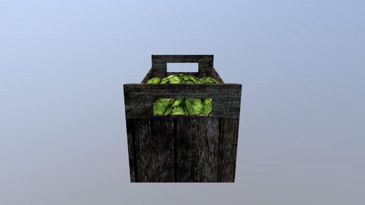Chmiel box low poly 3D Model
