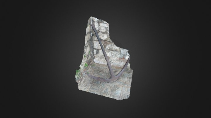 Anchor @ San Carlos de Borromeo Castle 3D Model