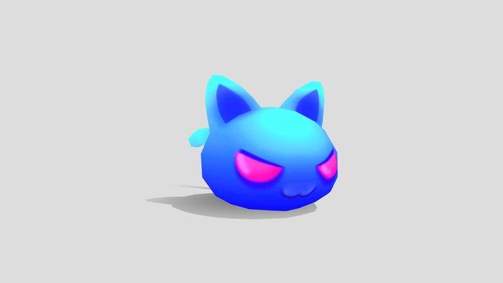 Jelly Beams - Cat 3D Model
