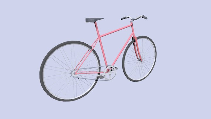 Summer Bike 3D Model