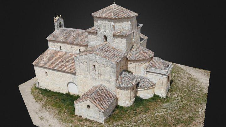 Iglesia de Nuestra Señora de la Anunciada.Urueña 3D Model