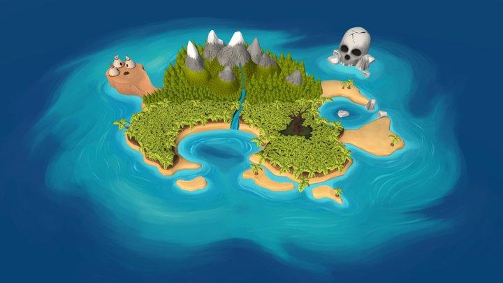 Neverland 3D Model
