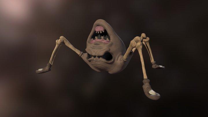 The Binding Of Isaac - Widow 3D Model