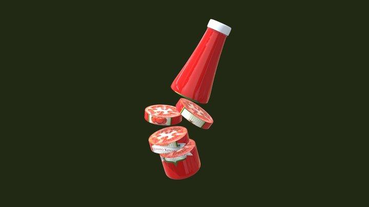Ketchup 3D Model