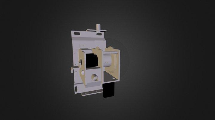 Treuil SI (sans le capot) 3D Model