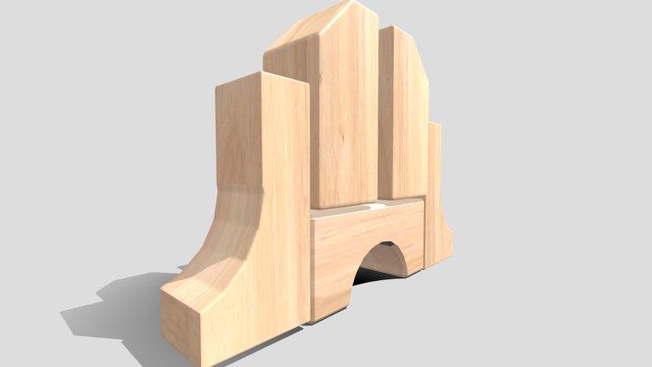 Unitblockright 3D Model