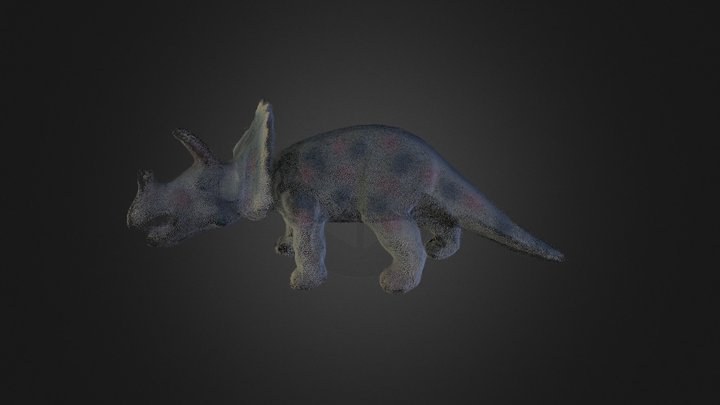 Tricera 3D Model