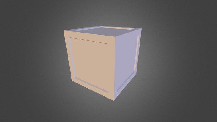 Painted Box 3D Model