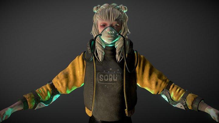 Yumiko - SFAS 2020 3D Model