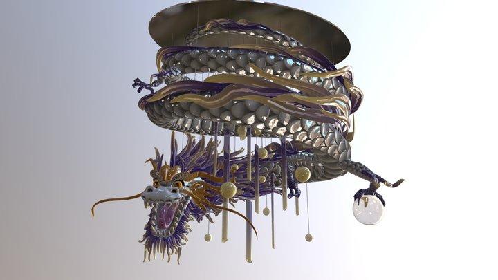 Dragon Bedroom light 3D Model