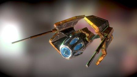 Star Interceptor 3D Model