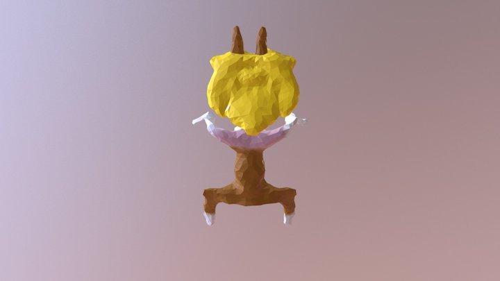 Serval chann 3D Model
