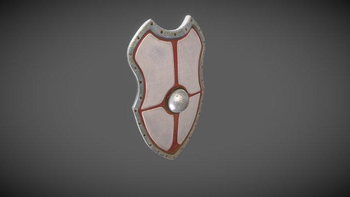 Templar shield 3D Model