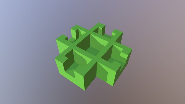 connector for modules (4) or extensions 3D Model