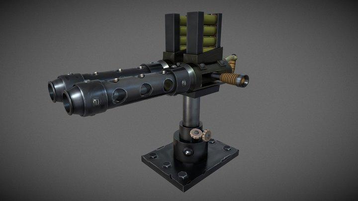 XM460 3D Model