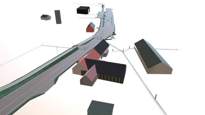 T22 Tõrma-Levala / Maanteeameti pilootprojekt 3D Model