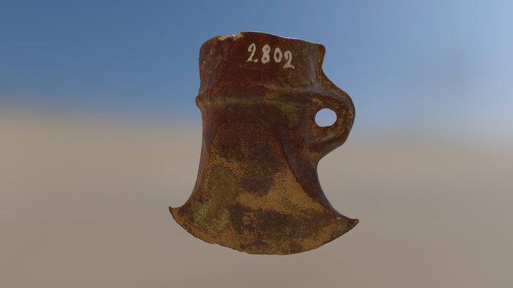 Holkyxa/Socketed axe 3D Model