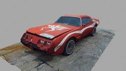 Pontiac Firebird Formula (1974) 3D Model