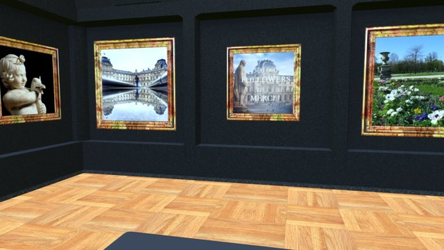 Instamuseum for @museelouvre 3D Model