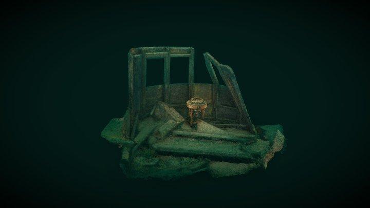 Wreck of the Madeira - Pilot House 3D Model