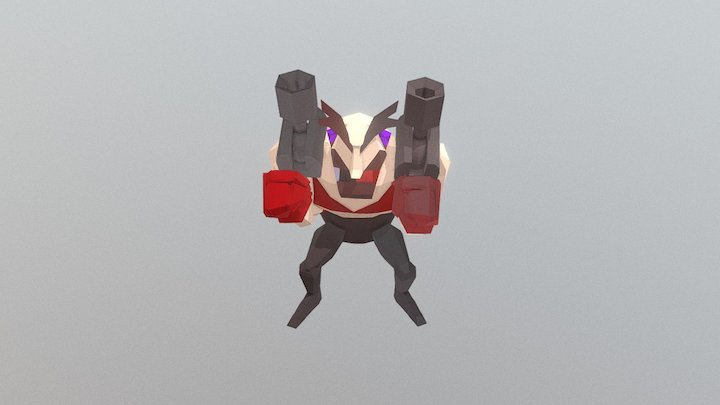 Bomber - Victory Pose 3D Model