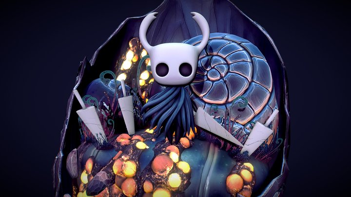 Hollow Knight 3D Model