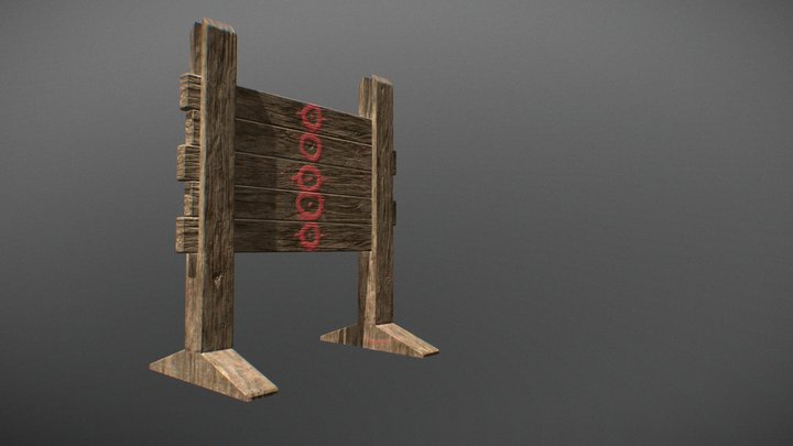 Bow target 3D Model